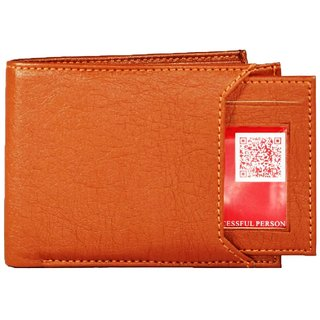 wallets for men in tan color 7 cards pockets(wenzest)