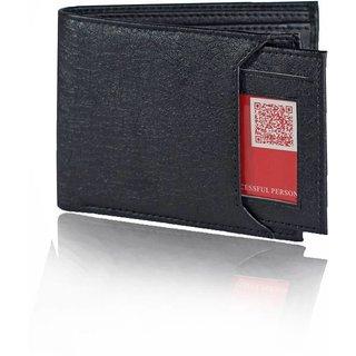 wallets for men in black color 7 cards pockets(wenzest)
