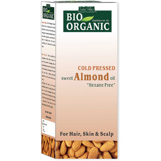Indus Valley Bio Organic Sweet Almond Oil For Skin Or Hair