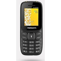Karbonn K140 POP Dual SIM Basic Phone (Black)