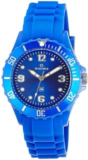 Maxima Analog Blue Dial Unisex Watch - 31009PPLN