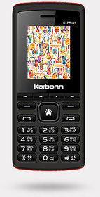 Karbonn K17 Rock,Dual SIM (Black Red)