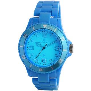 Maxima Fiber Analog Sky Blue Dial Womens Watch - 31800PPLN