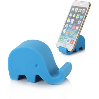 Sketchfab Elephant Design Mobile Holder For Smartphone  Tablet - Blue