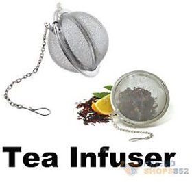 Right Traders Stainless Steel Tea Infuser Mesh Ball Tong for Brewing Green Tea