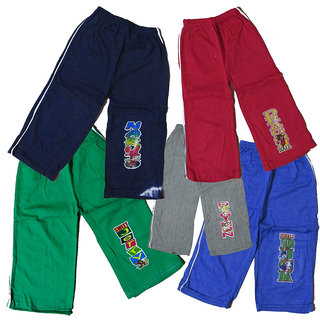 Setof 5 pc KidsBaby BoysGirls Cotton Track Pant 0 Size ht 13inch approx 48mon