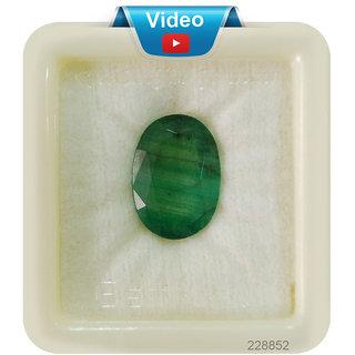 Fedput 9.25 Ratti Emerald ( PANNA STONE ) 100  ORIGINAL CERTIFIED NATURAL GEMSTONE AAA QUALITY