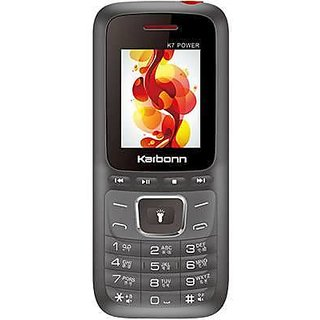 Karbonn K7 Power Dual SIM Basic Phone (Black-Red)
