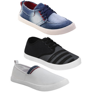Armado Footwear Men Combo Pack 3 (Casual Shoes With Loafer Shoes)