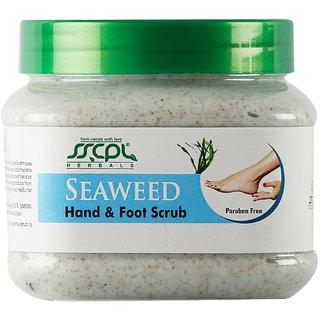 SSCPL Herbals Seaweed Hand & Foot Scrub 450 gm