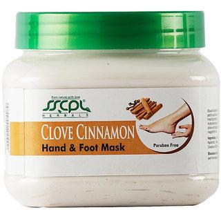 SSCPL Herbals Clove Cinnamon Hand Foot Massage Mask 450 gm