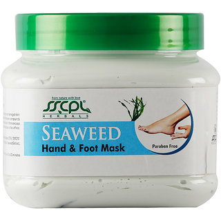 SSCPL Herbals Seaweed Hand & Foot Massage Mask 450 gm