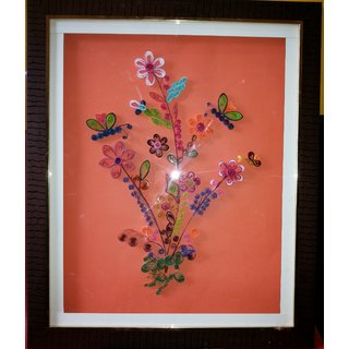 Hand Made Quilling Wall Hanging Painting
