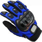 Akkart Blue Pro Biker Riding Hand Glove (XL Size)