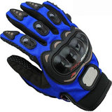 Akkart Blue Pro Biker Riding Hand Glove (L Size)