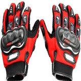 Akkart Red Pro Biker Riding Hand Glove (L Size)
