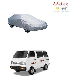 AutoSun Car Body Cover Silver Metty -  Maruti Suzuki Omni (Maruti Van)