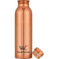 Royal Merchant seamless pure luxury  copper water bottle 1000ML