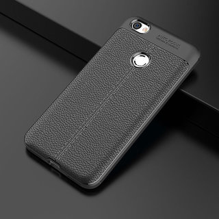 more photos 87002 66b35 Redmi Y1 cover / Back cover Original Auto Focus All Side Full Protection  Shock Proof Leather Pattern Armor Soft Case