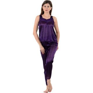 Women Sexy Satin Nightwear (2pc)