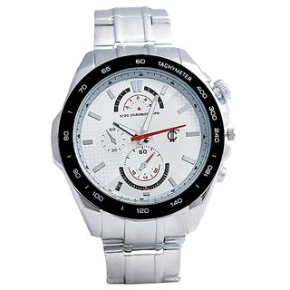 True Colors R Shin S Luxury Analogue White Dial Mens Watch