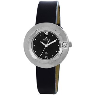 Maxima Analog Black Dial Womens Watch-40902LMLI