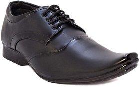 Blue Pop 411 Black Lace Up Party Wear  Formal Shoes