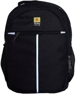 Skyline Casual Unisex Backpack Bag-S12 Black