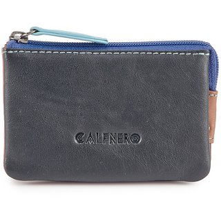 Calfnero Genuine Leather Key Case cum money purse