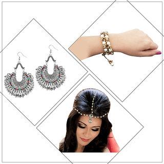 JewelMaze Set Of 3 Jewellery Combo-PAA1806