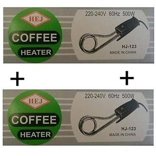 2 Pcs Coffee / Tea / Water / Milk Heater Boiler Immersion Rod / Heating Rod 500W