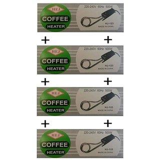 4 Pcs Coffee / Tea / Water / Milk Heater Boiler Immersion Rod / Heating Rod 500W