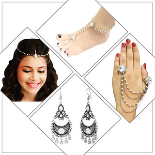 Meia Set Of 4 Jewellery Combo-PAA1813