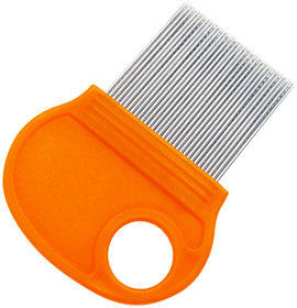 QD Long Teeth Magnify Lice Comb Hair Get Rid Headlice Nit Remover treatment comb High Qulity Comb Hair Brush Lice Comb S