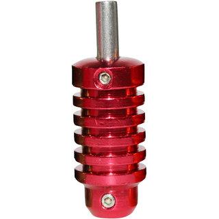 MUMBAI TATTOO ALUMINIUM 25 MM GRIP RED (PACK OF 1)