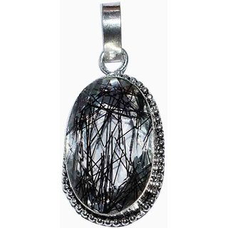 925 STERLING SILVER OVERLAY BEAUTIFUL QUARTZ GARNET PENDATE FOR WOMEN