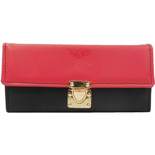 Sn Louis Black And Red Women Wallet