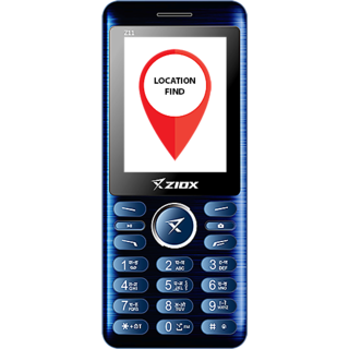 Ziox Z11 Dual SIM Basic Phone (Blue Black)