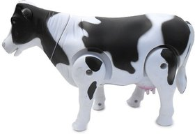 Milk Cow Moving Legs  Shake Tail Make Sound Toy