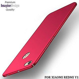 super popular c3f03 2e8f3 Mascot max back cover red for Redmi Y1