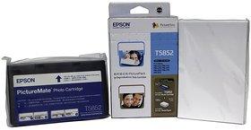Epson T5852 Photo Cartridge For PM210, PM215, PM235, PM245, PM250, PM270, PM310 Multi Color Ink  (Multicolor)