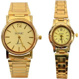 Sonix Golden Couple Watches