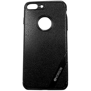 Black Luxury Look Back Cover Case For iPhone 7+ / 7 Plus (5.5