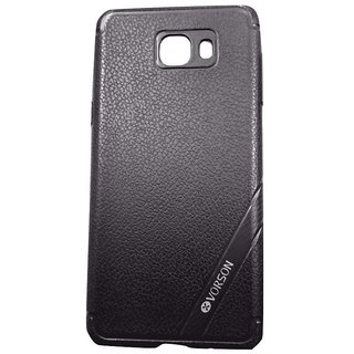 Black Back Cover Case For Samsung Galaxy C9 PRO