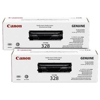 Canon 328 Dual Pack Black Toner Cartridge MF4450 MF-4450 MF4412 MF-4412 MF4550 MF-4550 MF4570 MF-4570
