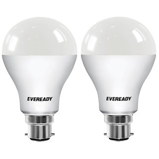 Eveready 12W 6500K Cool Day Light Pack of 2 Led Bulbs