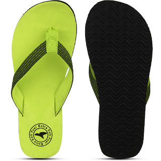 a63125a5e9f Buy Fuel Green Black Stylish Walking Flip Flops Online - Get 10% Off