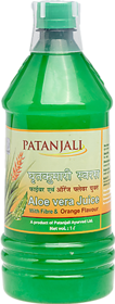 Patanjali Aloevera Juice With Fibre And Orange Flavour (L) 1000ml