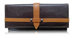 Sn Louis Brown Women Wallet 010