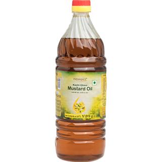 Patanjali Kachi Ghani Mustard Oil (L) 1l